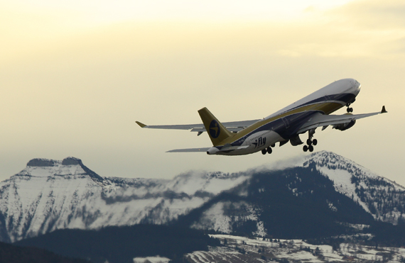 Airbus A330 von Ifly - Foto: CZ Austrian Wings Media Crew