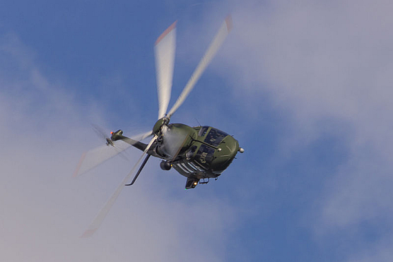 Hubschrauberabsturz Gestern