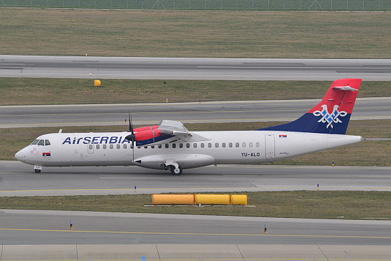 Air Serbia YU-ALO ATR72_1 Foto PA Austrian Wings Media Crew