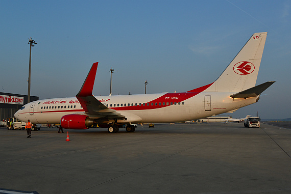 Air Algerie Boeing 737-800 7T-VKD_11 Foto PA Austrian Wings Media Crew