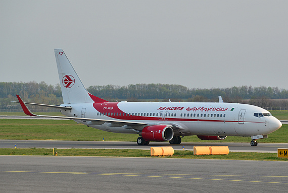 Air Algerie Boeing 737-800 7T-VKD_3 Foto PA Austrian Wings Media Crew