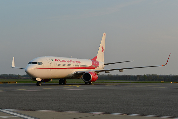 Air Algerie Boeing 737-800 7T-VKD_6 Foto PA Austrian Wings Media Crew