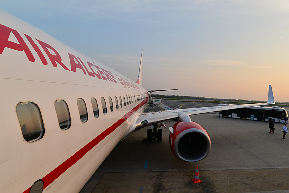 Air Algerie Erstlandung Stylisch Foto PA Austrian Wings Media Crew