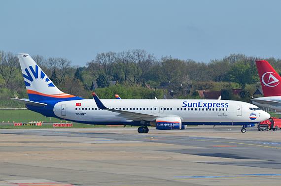 Sunexpress Flugzeuge