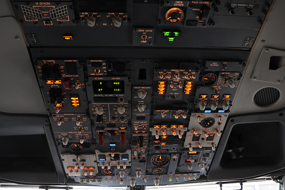 Air Algerie Boeing 737 NG Cockpit - Foto: Austrian Wings Media Crew