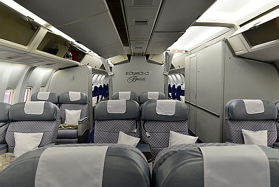 El Al Israel Airlines Boeing 767-300ER 4X-EAK Business Class Foto PA Austrian Wings Media Crew