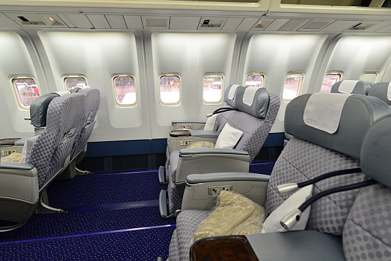 El Al Israel Airlines Boeing 767-300ER 4X-EAK Business Class_1 Foto PA Austrian Wings Media Crew
