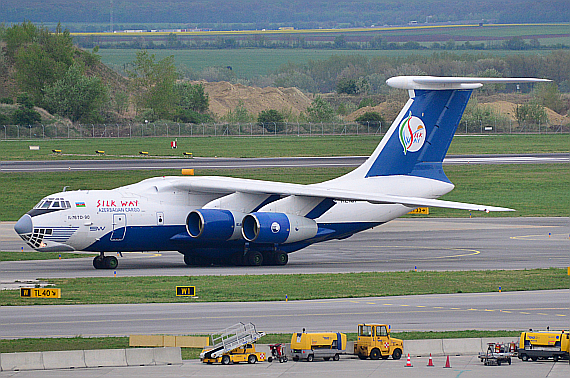 Silk Way IL-76 4K-AZ101_1 Foto PA Austrian Wings Media Crew
