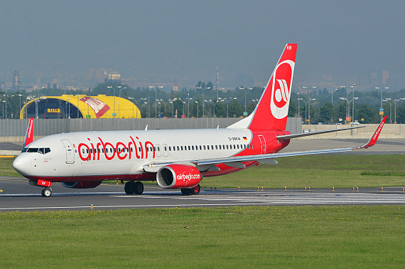 Air Berlin Boeing 737-800 D-ABKW Foto PA Austrian Wings Media Crew