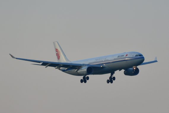 Air China Erstlandung Anflug 29 Foto PA Austrian Wings Media Crew