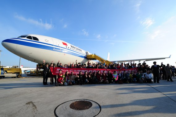 Air China Erstlandung _10 Foto PA Austrian Wings Media Crew
