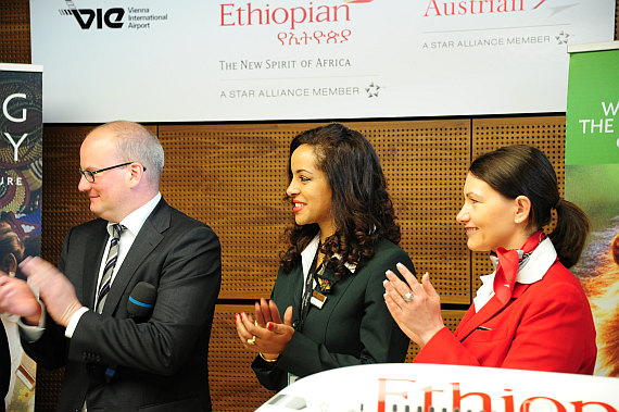Ethiopian Applaus Foto PA Austrian Wings Media Crew