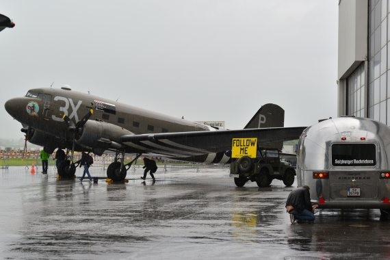 DC-3 C-47 Dakota Foto PA Austrian Wings Media Crew