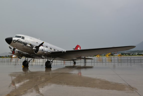 DC-3 Swissair Foto PA Austrian Wings Media Crew