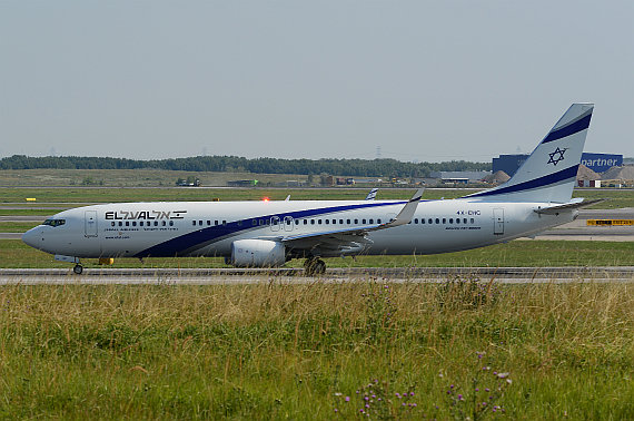 El Al Israel Airlines 4X-EHC Boeing 737-900ER Foto PA Austrian Wings Media Crew_018 Take off rund start