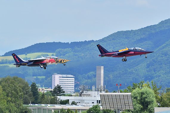 Flying Bulls Alpha Jet Formation Foto PA Austrian Wings Media Crew