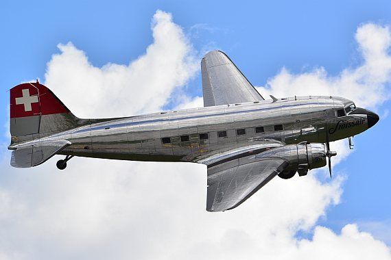 Swissair Dc-3 Lowpass_1 Foto PA Austrian Wings Media Crew