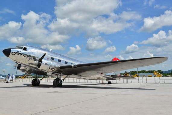 swissair DC-3 Foto PA Austrian Wings Media Crew