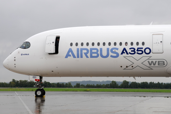 Airbus A350-900 - Foto: Austrian Wings Media Crew