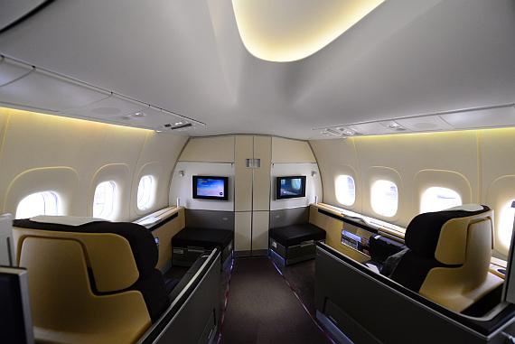 Lufthansas neues Jumbo-Flaggschiff: Unterwegs an Bord der 747-8I ...