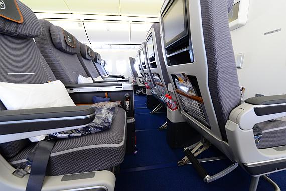 Lufthansa Boeing 747 400 Business Class Seats Lufthansa Boeing 747 400 Neue Business Class Wroc