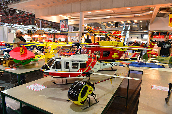Modellbaumesse 2014 Hubschrauber Foto PA Austrian Wings Media Crew