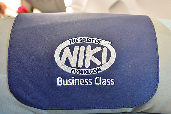 Niki Etihad Abu Dhabi Business Class Event Foto PA Austrian Wings Media Crew Headrest Cover1