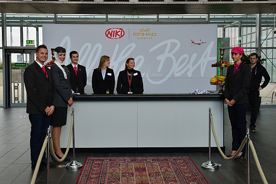 Niki Etihad Abu Dhabi Business Class Event Foto PA Austrian Wings Media Crew