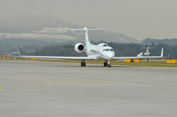 Private Gulfstream G-V-SP, N890A