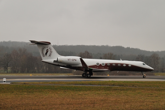 Private Gulfstream G550, VT-CPA der Poonawalla Aviation