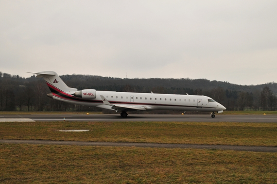 Private Bombardier CRJ-702, VP-BCL