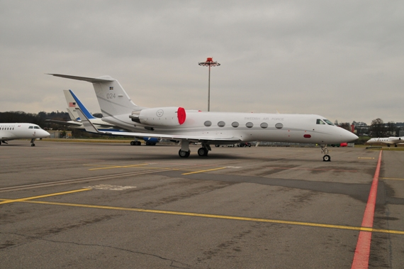Swedish Air Force, Gulfstream G450, #024