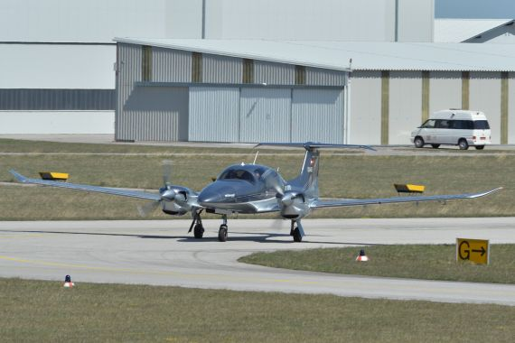 Diamond Aircraft DA62 OE-VSB Foto Huber Austrian Wings Media Crew