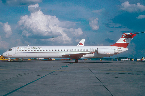 AUa Austrian Airlines MD-80 new colors OE-LMA Foto AUA