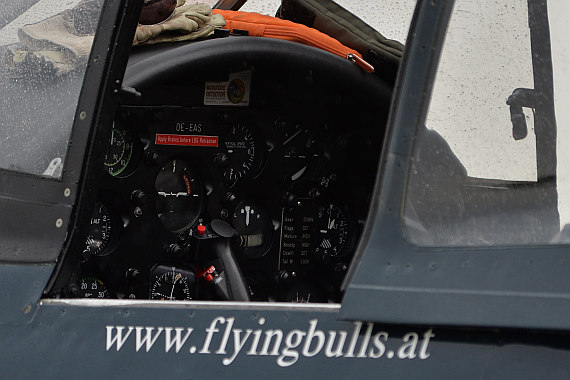 Flugplatzfest STockerau 2015 Foto Huber Austrian Wings Media Crew Flying Bulls Cockpit F4U Corsair