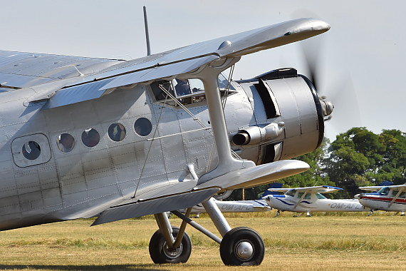 Spitzerberg 2015 Foto Huber Austrian Wings Media Crew Antonov AN-2 SP-FAH_Closeup Motor