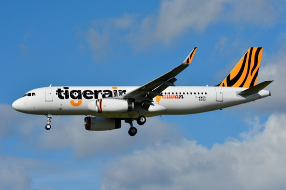 28. Copyright by Paul Bannwath Tigerair Airbus A320