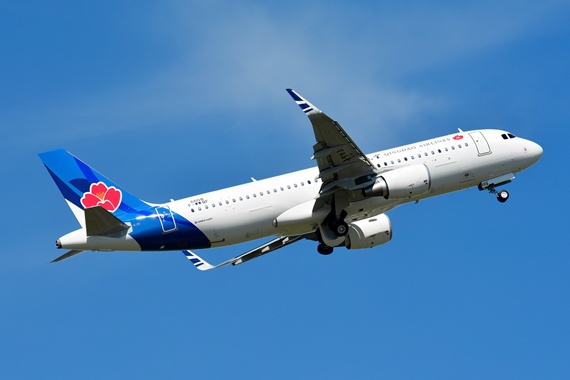 32. Copyright by Paul Bannwarth Qingdao Airlines Airbus A320