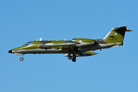 36. Copyright by Paul Bannwath Learjet 35AS LJ-1 Finnish Air Force finnische Luftwaffe