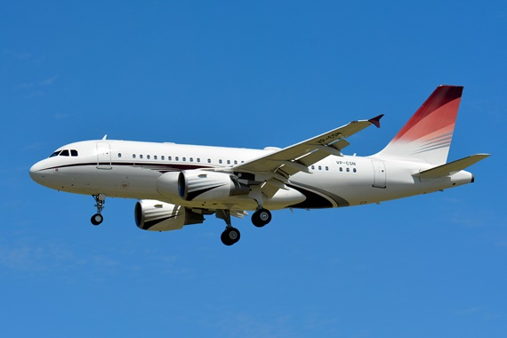 38. Copyright by Paul Bannwath Nexus Flight Operations VP-CSN Airbus A319
