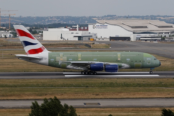 41. Copyright by Benjamin Schudel Airbus A380 für British Airways