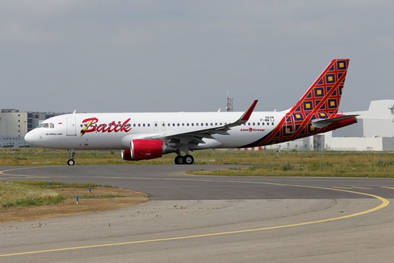 42. Copyright by Benjamin Schudel Batik Air Airbus A320