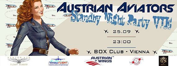 Austrian Aviators Clubbing Promotion - Grafik: Polish Aviators