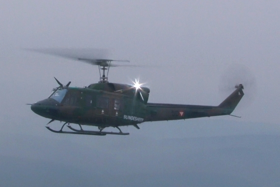 Bundesheer Agusta Bell 212 Air-to-Air - Foto: V-I-P.tv