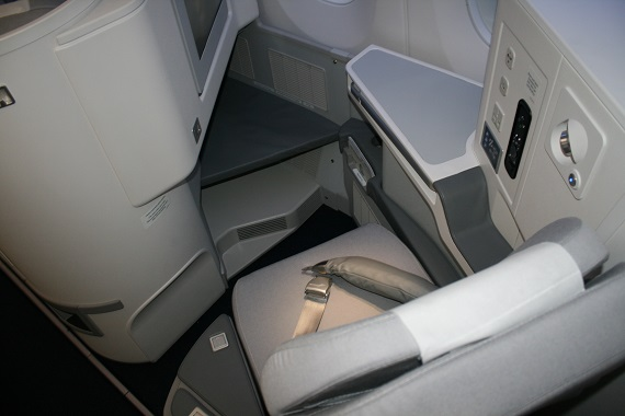 Finnair A350 Business Class Fenster