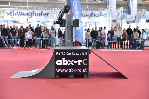 Modellbaumesse 2015 Foto Huber Austrian Wings Media Crew Auto