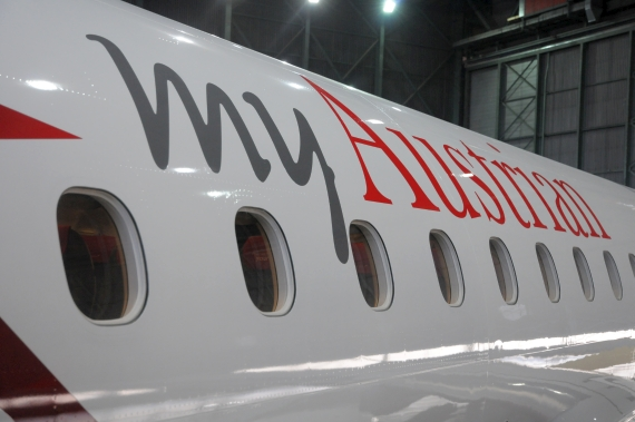 myAustrian Embraer 195 Taufe - Foto Austrian Wings Media Crew