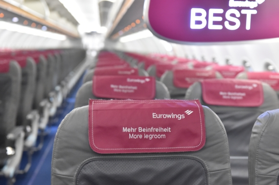 Eurowings Kabine 1 Foto Huber Austrian Wings Media Crew