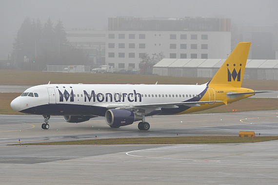 Salzburg Wintercharter 02012016 Huber Austrian Wings Media Crew G-ZBAH Monarch Airlines Airbus A320 DSC_0293