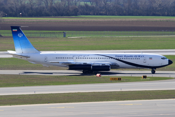 EP-AJD Islamic Republic of Iran Boeing 707-300 - Foto: Austrian Wings Media Crew